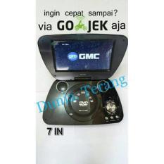 Gmc 808 R Dvd/Cd/Vcd/Tv Portable Gmc 7 In - 3Eccdc