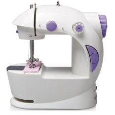 Gogo Grosir Mini Electric Portable Adaptor Pedal Sewing Machine Mesin Jahit Kecil Listrik Otomatis New Diskon 30