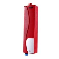 GZU HY30-07 Listrik Instan Tankless Pemanas Air untuk Dapur Kamar Mandi (Merah)-Intl