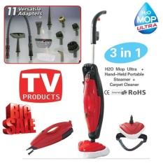 H2o Mop 3 In 1 Steam Cleaner With 11 Adapter Household Steam Mops By Next Store.