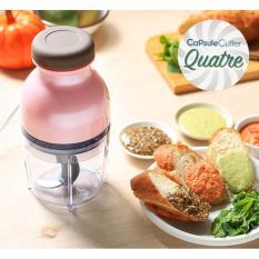 Spesifikasi Hand Blender Capsule Cutter Quatre Blender Capsul Press Serbaguna Multifungsi Babamu Terbaik