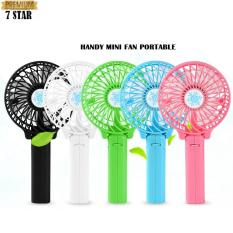 Handy Mini Fan / Kipas Genggam Lipat Portable Rechargeable Quality Brand - Random Colour