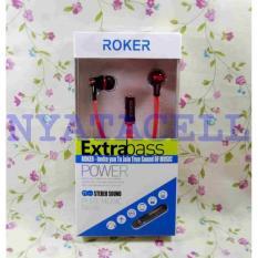 Headset Roker Super Bass Rk20k (Samsung/Asus/Bb/Xiaomi Dll) Handsfree - 6B3357