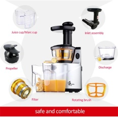 Beli Healthy Living Kq 8 Slow Juicer Natural Juice Extractor Murah Di Indonesia