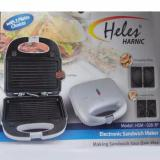 Review Pada Heles Hsm 028 3P Alat 3In1 Pembuat Sandwich Ommelate Grill Putih