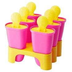 IKEA Chosigt Ice Lolly Maker Cetakan Es Krim - Pink