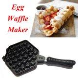 Situs Review Ismart Best Quality Egg Waffle Hongkong Teflon Double Pan Telur 30 Lubang Alat Cetakan Waffle Anti Lengket Hitam