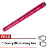 Harga Iwara Selang Gas Lpg Acetylene Merah 2 Meter Asli Iwara
