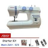 Toko Janome 1008 Mesin Jahit Portable Gratis Sjs Starter Kit Lengkap