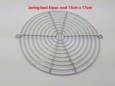 Jaring Besi Fan OVAL  AC Kipas 15cm x 17cm