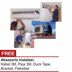 Jasa instalasi AC + Aksesoris 1.5 - 2PK Khusus wilayah Jakarta