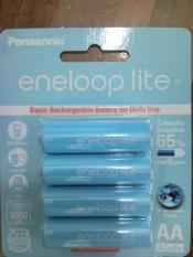 Jual Batre / Batere / Baterai / Battery Sanyo Eneloop AA / A2 Lite 1000mAh Isi 4pc 1500x charge Mad