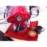 Ulasan Mengenai Jual Coffee Maker Espresso Retro Red 210 Harga Distributor