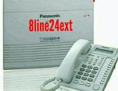 JUAL Panasonic PABX 8 lines 24 Extension PBX Unit KX-TES824 TES 824