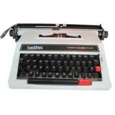 JUAL TYPEWRITER MESIN TIK KETIK ANALOG MANUAL BROTHER M2000 13