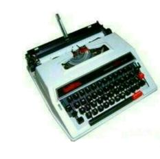 JUAL TYPEWRITER MESIN TIK KETIK ANALOG MANUAL BROTHER M2000 9