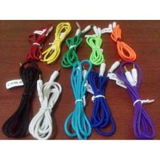 Kabel Audio Aux Jaring 1 Meter- 3.5Mm Male To Male - Caska - A6997A