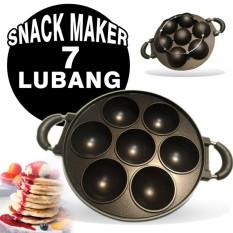 Harga Kado Unik Cetakan 7 Lubang Cekung Snack Maker Kue Cubit Happycool Asli Kado Unik