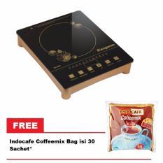 Kangaroo KG-368i Infrared cooker Free Indocafe Coffeemix Bag Isi 30 sachet