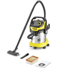 Promo Karcher Wd 5 Premium Vacuum Cleaner Wet And Dry Kuning Karcher Terbaru