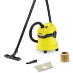 Harga Karcher Wd2 Mv2 Wet And Dry Vacuum Cleaner Yellow Satu Set