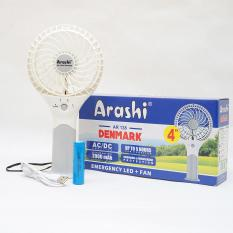 Harga Kipas Angin Fan Mini Portabel Arashi Ar 138 Emergency Led Fan 4 Inch Indonesia