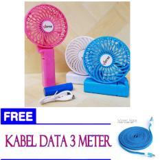 kipas angin genggam votre free kabel data 3 meter
