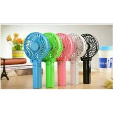 Kipas Angin mini fan lipat kecil cas charge Tangan Portable Rechargable-random collor