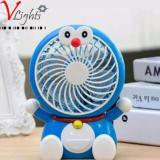 Spek Kipas Angin Mini Portable Usb Karakter Doraemon Biru