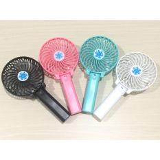 Kipas Angin Tangan Portable / Gagang Rechargeable - Multi Color