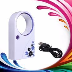 Kipas Angin Tanpa Baling Mini Fan USB AC Bladeless Portable Cooling