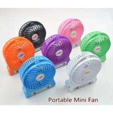 Beli Kipas Angin Usb Mini Fan Portable Dengan Baterai Charger Mini Fan Portable Online