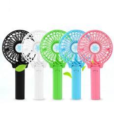Kipas Genggam Handy Mini Fan Lipat Portable Rechargeable Quality Brand - Random Colour
