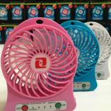 Jual Kipas Mini Usb Port Charger Power Bank Lampu Aktif Multicolor 2509 Branded Murah