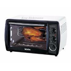 Kirin KBO-190RA Oven Elektrik - Oven Listrik - Pemanggang Listrik - Kap 19 Liter - Putih Hitam
