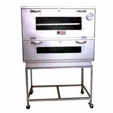 Kiwi - Oven Gas Ukuran 75X55 cm - Perak