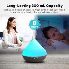 Kobwa Volcano Shape Air Humidifier Diffuser Essential Oil Ultrasonic Purifiers untuk Kantor Rumah Kamar Tidur Ruang Tamu Ruang Kerja Yoga Spa