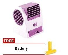 Kokakaa Mini AC Cooling Fan Portable - Ungu