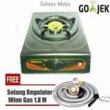 Spek Kompor Gas 1 Tungku Progas Free Selang Regulator Winn Gas Sni