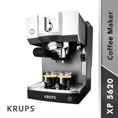 Krups XP5620 Mesin Pembuat Kopi - Hitam/Silver