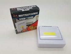 Lampu Emergency led COB with magnet Model Saklar MITSUYAMA MS-8508