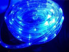 LAMPU HIAS NATAL LAMPU SELANG 10M ROPE LIGHT 8 Variasi Cahaya BIRU
