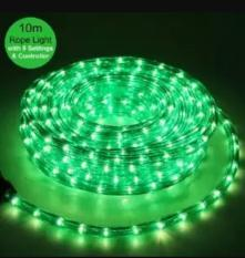 LAMPU HIAS NATAL LAMPU SELANG 10M ROPE LIGHT 8 Variasi Cahaya HIJAU