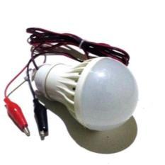 Lampu Led 3W Dc 12V Putih Colok Aki U/ Emergeny/ Jualan 3 W Lamp Murah - 3Bc699