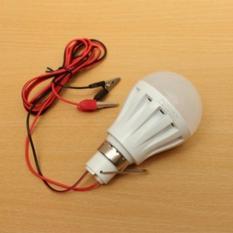 Lampu Led 5W Dc 12V Putih Colok Aki U/ Emergeny/ Jualan 5W Lamp Murah - B3bece
