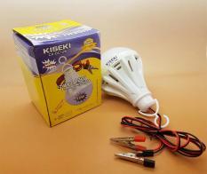 Lampu Led DC 12v KISEKI 12w - Model Lansung Jepit ke Baterai / aki