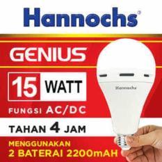 Lampu Led Hannochs Genius 15W (Emergency Light) - Bukan Philips - 37C69B