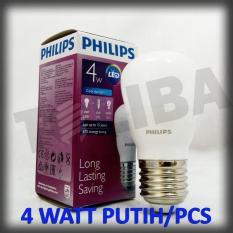 Lampu Led Philips 4Watt 4W 4 W 4 Watt / Lampu Philips Led Putih Sni - Acedab