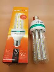 Lampu LED PushOn 4U 16 watt 96 led SMD 1440 lumen Cahaya PUTIH