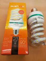 Lampu LED SPIRAL PushOn 12 watt 64 led SMD 1080 lumen Cahaya PUTIH